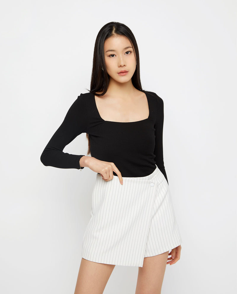 Dallyce Essential Knit Top Tops OSMOSE-STORES