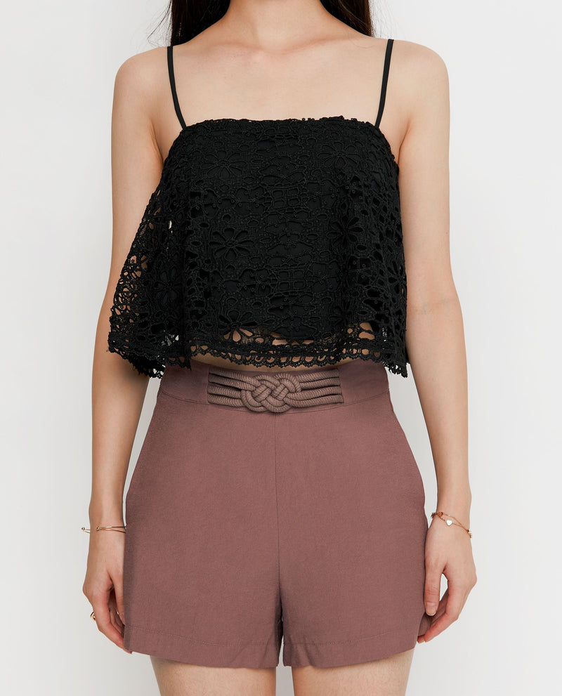 Dani Broderie Top Tops OSMOSE-STORES