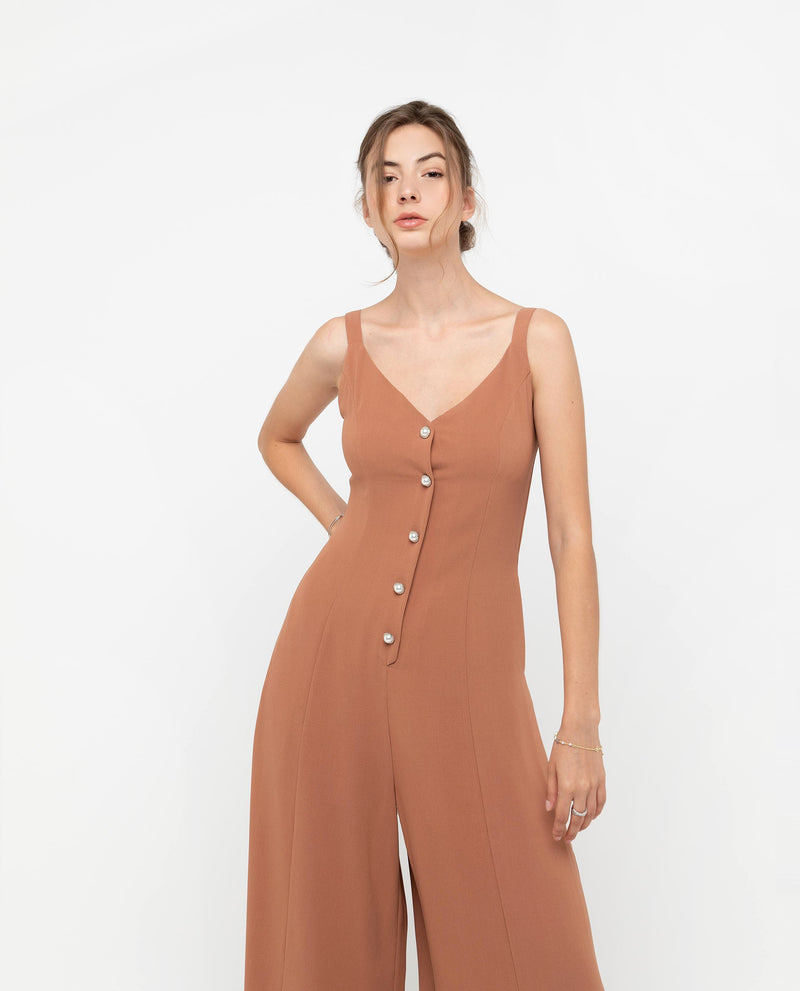 Dorian Button Down Jumpsuit One-piece suits OSMOSE-STORES