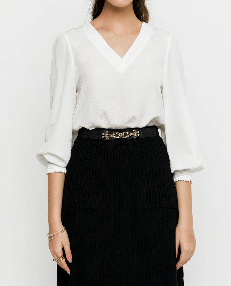 Flossia Long Blouse Tops OSMOSE-STORES