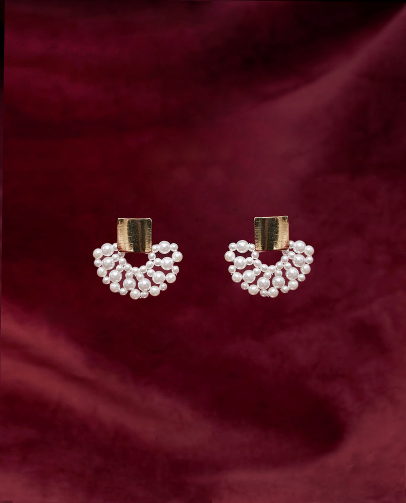 Gabriella Fan Earrings Earrings OSMOSE-STORES