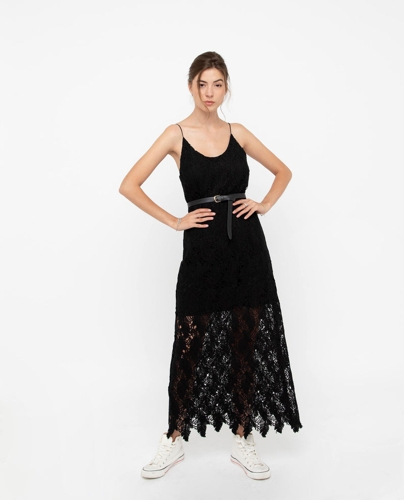 Gavril Lace Midi Dress Dresses OSMOSE-STORES
