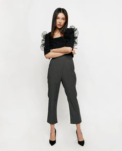 Genevieve Overlap Trousers Long Pants OSMOSE-STORES