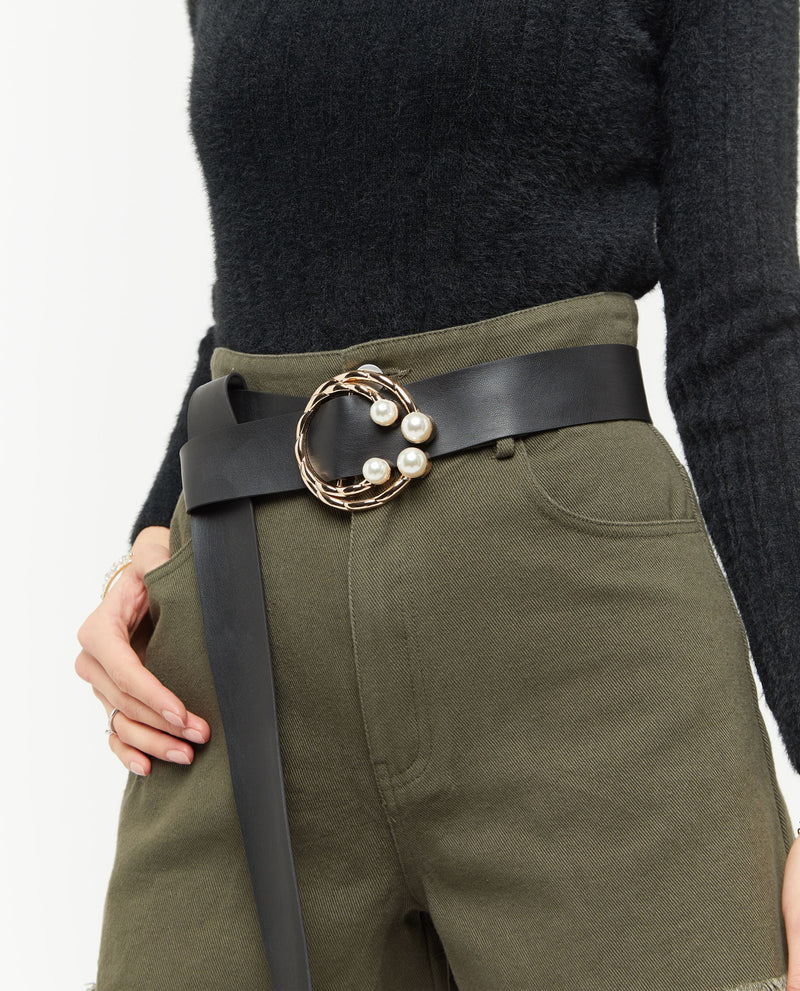Genivah Leather Belt Belt OSMOSE-STORES