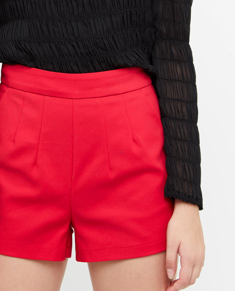 Glendel Pleated A Line Shorts Bottoms OSMOSE-STORES