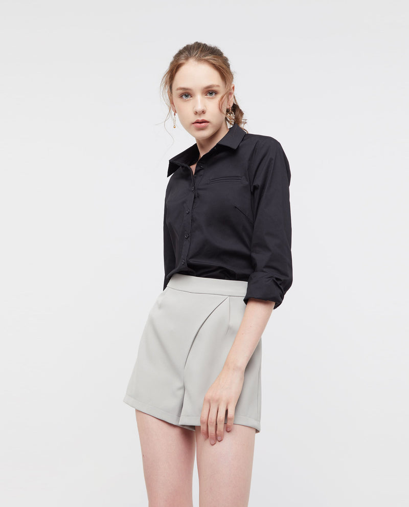 Hermant Buttoned Shirt Tops OSMOSE-STORES