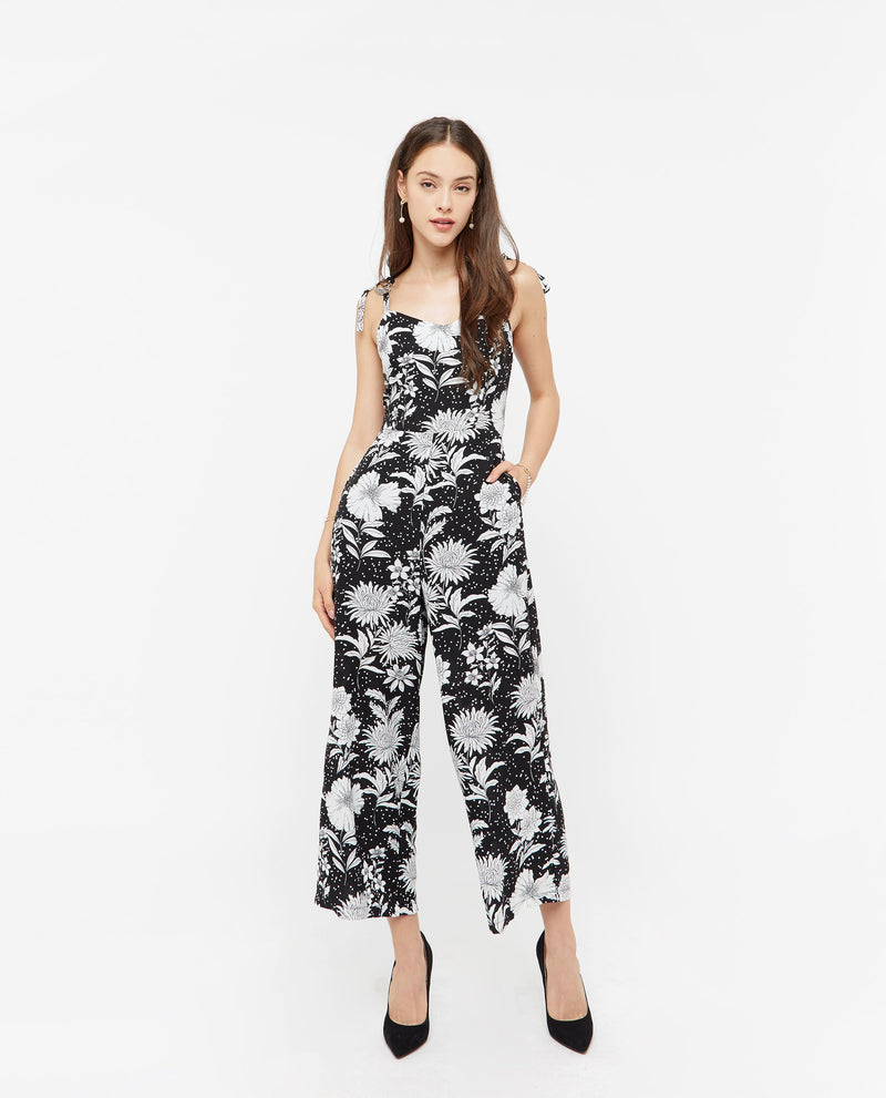 Hydeia Summer Print Jumpsuit One-piece suits OSMOSE-STORES
