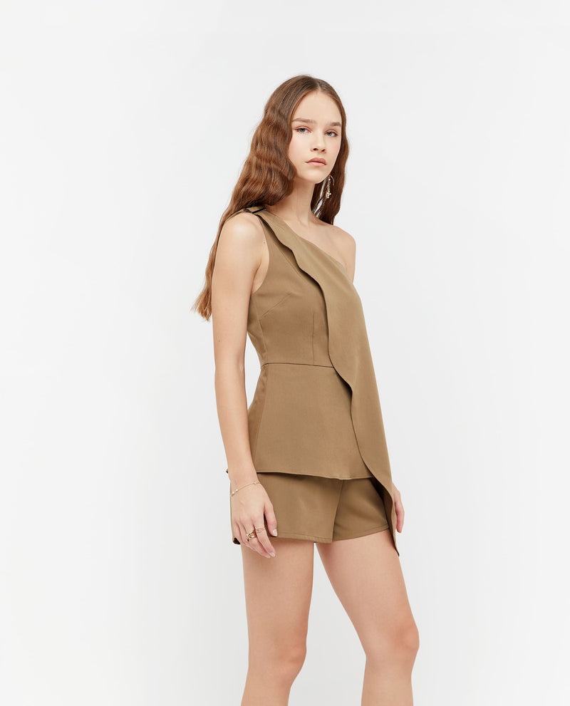Hyunra Toga Side Romper One-piece suits OSMOSE-STORES