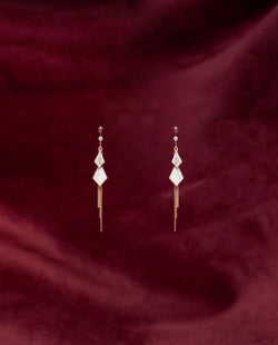 Ime Trapeze Drop Earrings Earrings OSMOSE-STORES