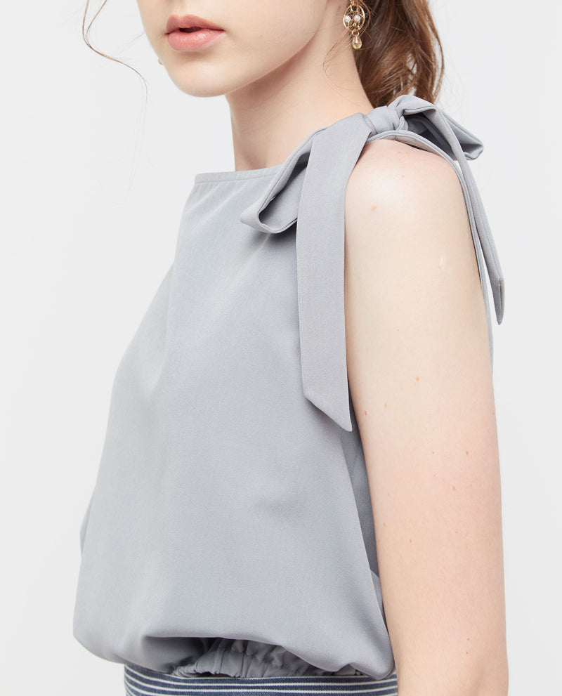 Inett Side Knot Top Tops OSMOSE-STORES