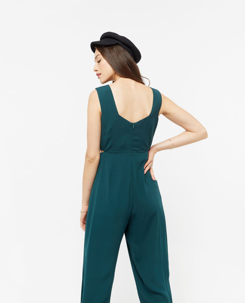 Iorwerth Side Slit Jumpsuit One-piece suits OSMOSE-STORES