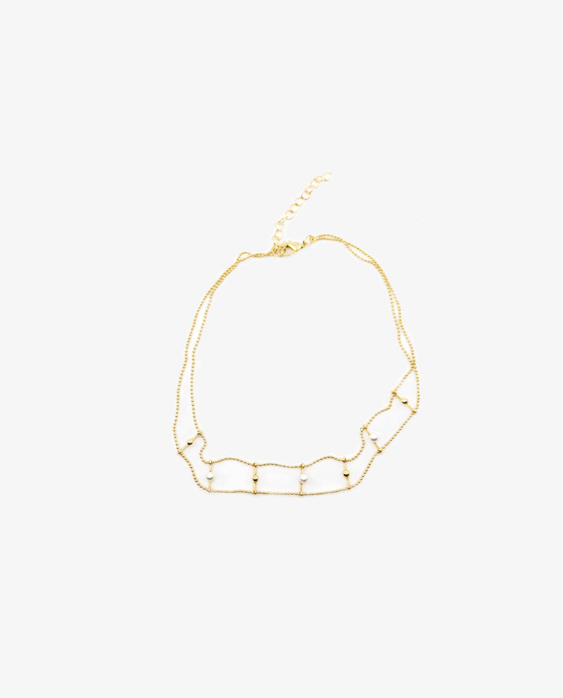 Lana Pearlised Choker Neacklace OSMOSE-STORES