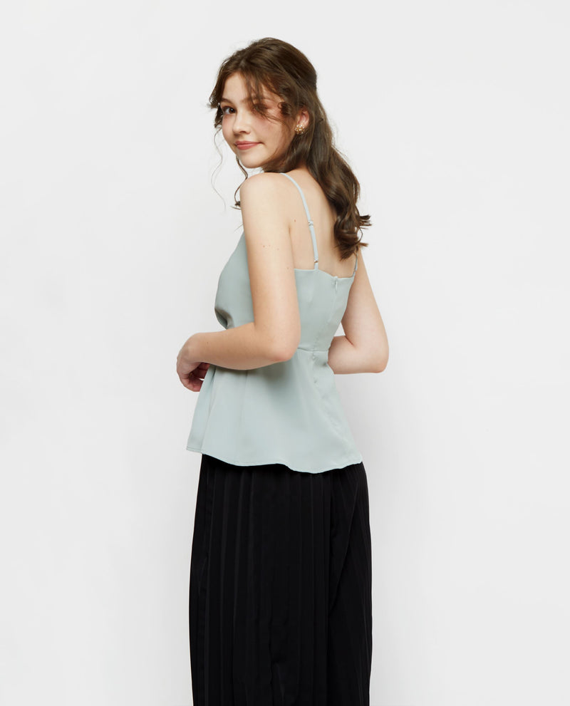 Laurel Pastel Spaghetti Top Tops OSMOSE-STORES