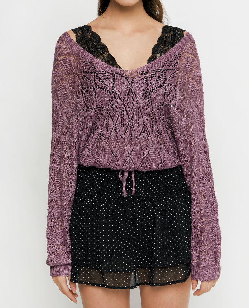 Leena Knit Top Tops OSMOSE-STORES