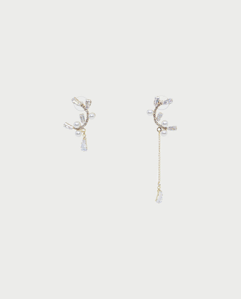 Livvy Diamante Earrings Earrings OSMOSE-STORES