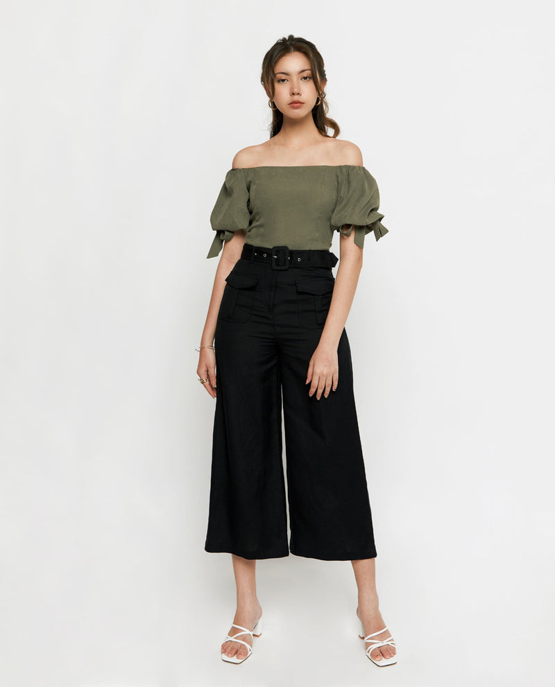 Luis Ribbon Top Tops OSMOSE-STORES