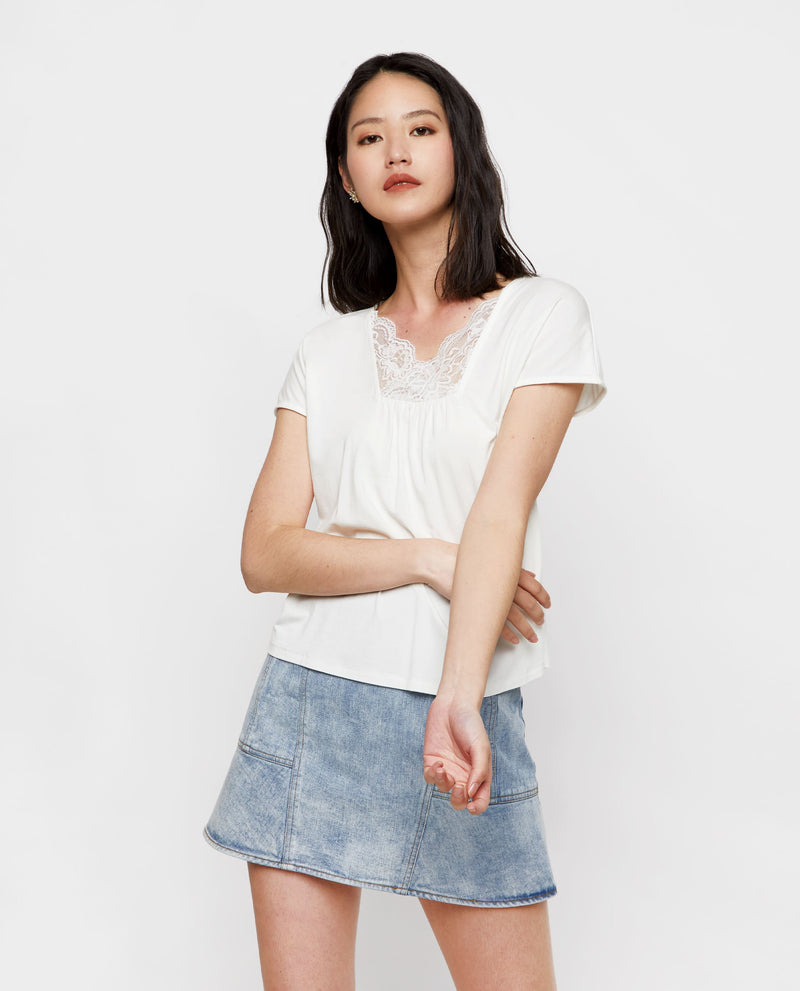 Mical Basic Jersey Tee Tops OSMOSE-STORES