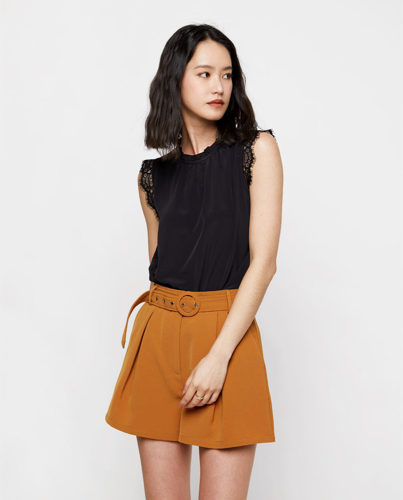 Nico Sleeveless Blouse Tops OSMOSE-STORES