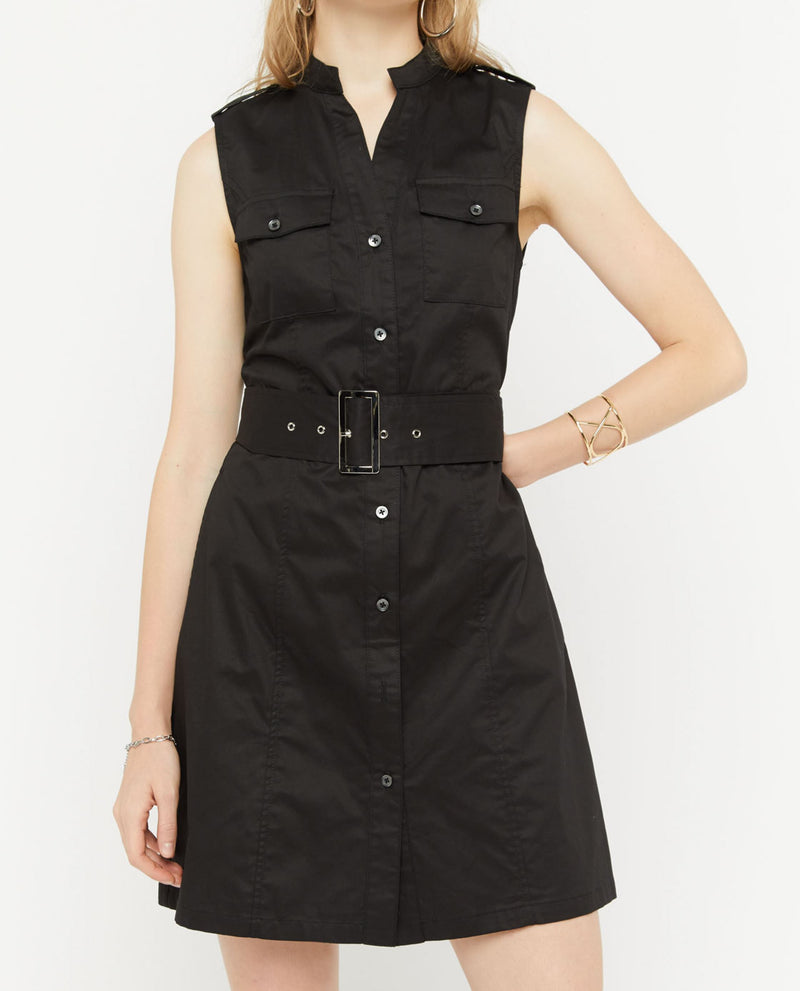 Nirvanka Trench Button Down Dress Short Dress OSMOSE-STORES