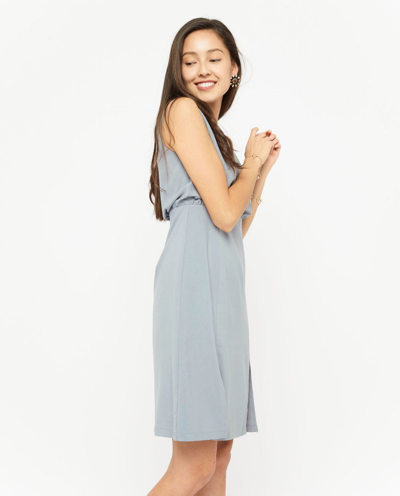 Pedra V Neck Dress Dresses OSMOSE-STORES