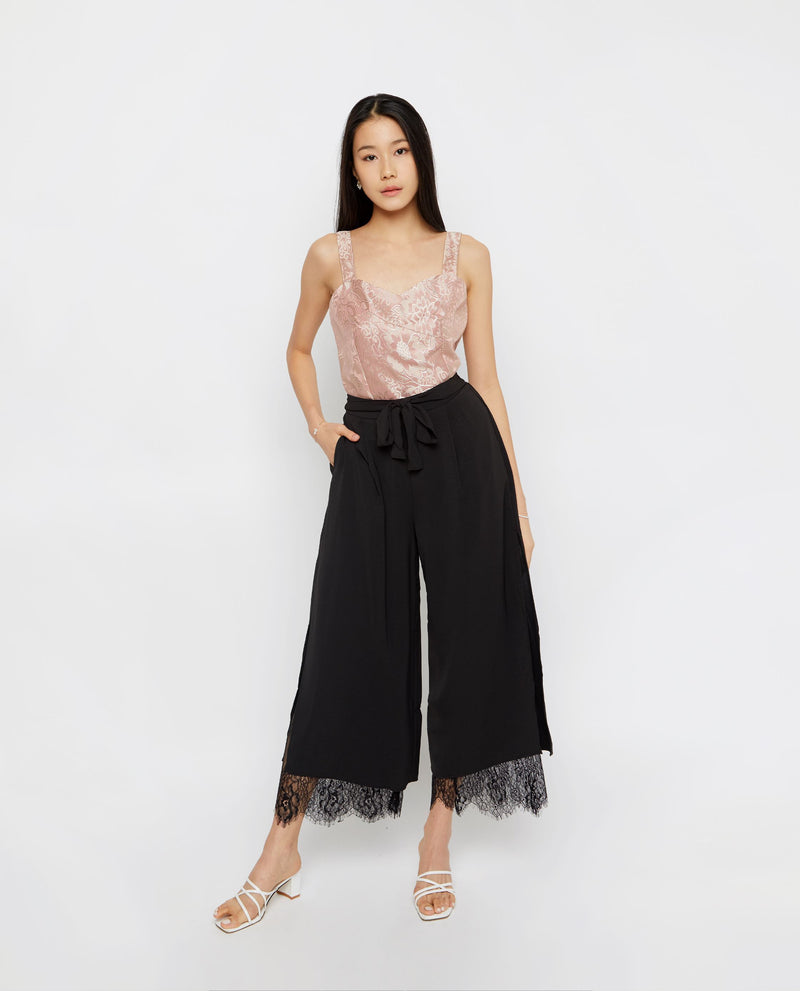 Perry Lace Culottes Culottes OSMOSE-STORES F Black