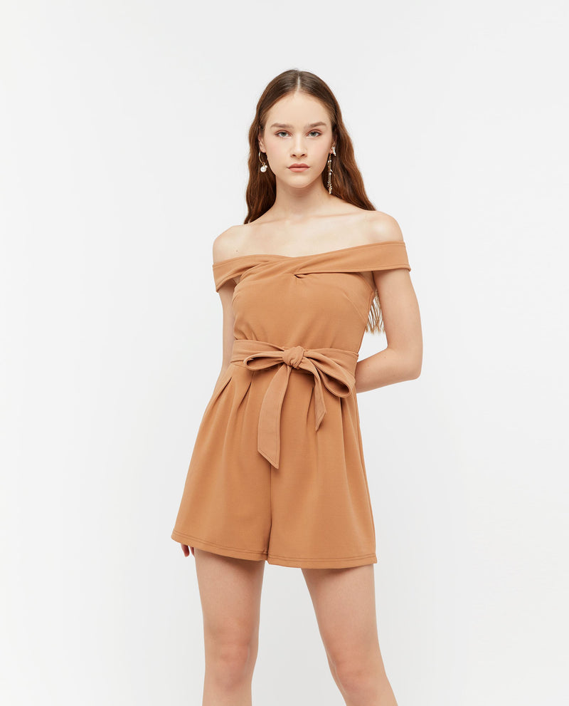 Peyyen Off Shoulder Romper One-piece suits OSMOSE-STORES