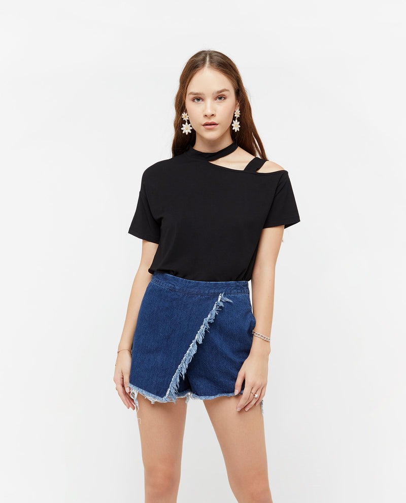 Phoebus Key Ring Cut Out Top Tops OSMOSE-STORES