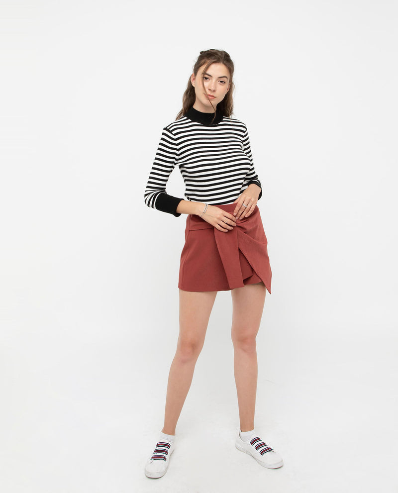 Posera Cross Wrap Skort Bottoms OSMOSE-STORES