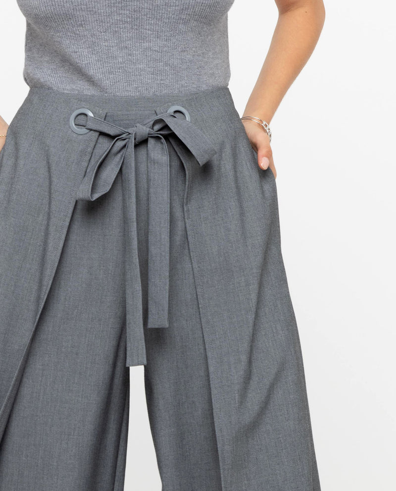 Prodeaux Asymmetrical Origami Pants Bottoms OSMOSE-STORES