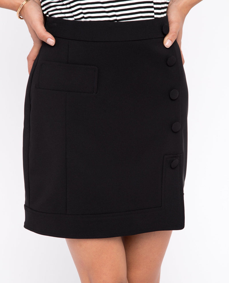 Qalyn Side Slit Skirt Bottoms OSMOSE-STORES