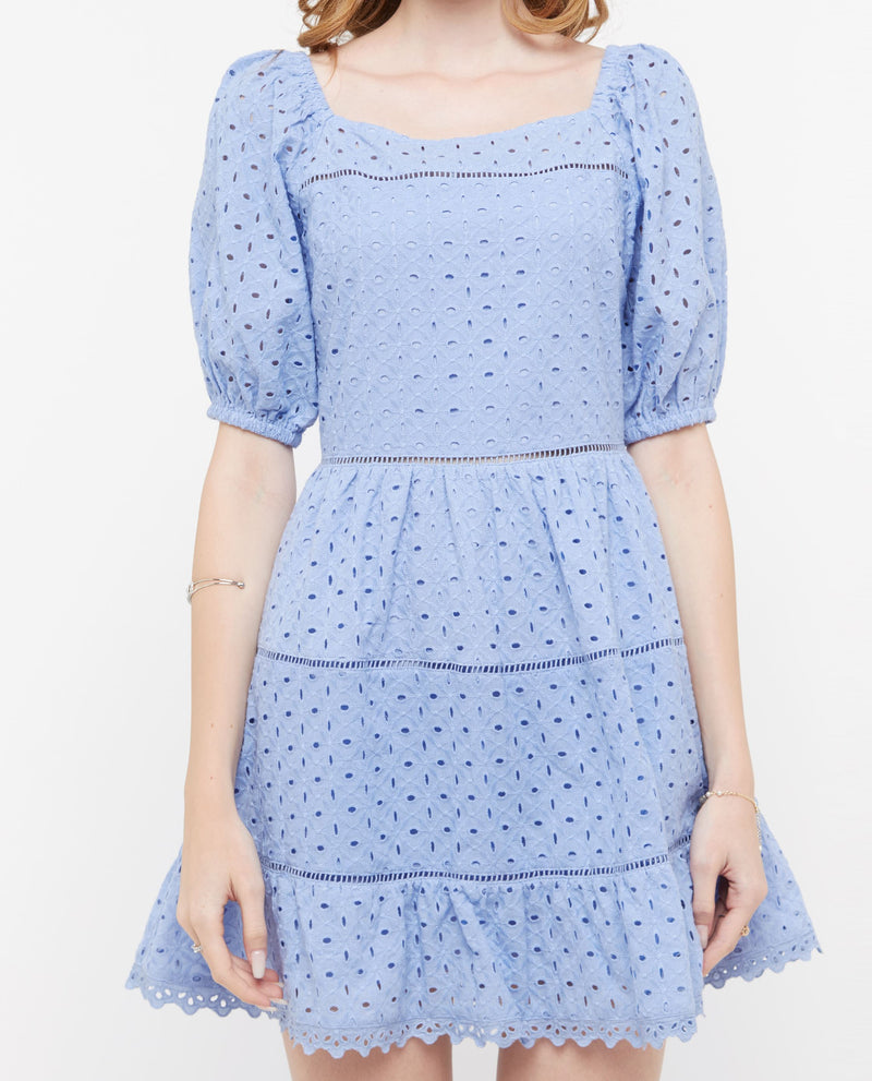 Quon Eyelet Dress Dresses OSMOSE-STORES