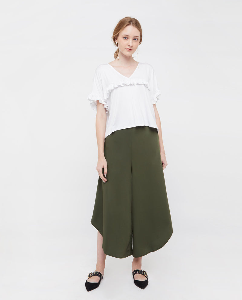 Reeze A Line Plazzo Pants Bottoms OSMOSE-STORES