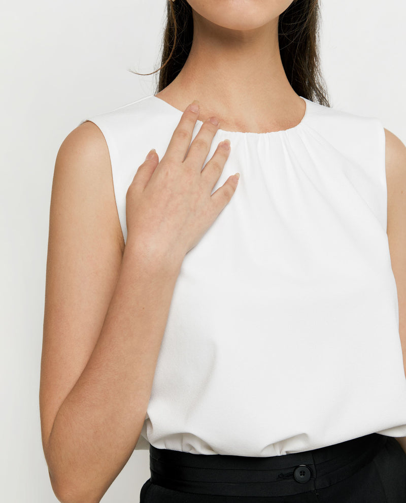 Rel Basic Blouse Tops OSMOSE-STORES XS White