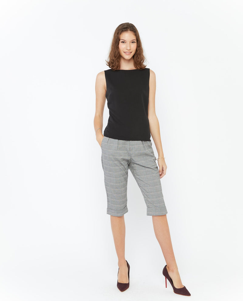 Renee V Cut Back Top Tops OSMOSE-STORES