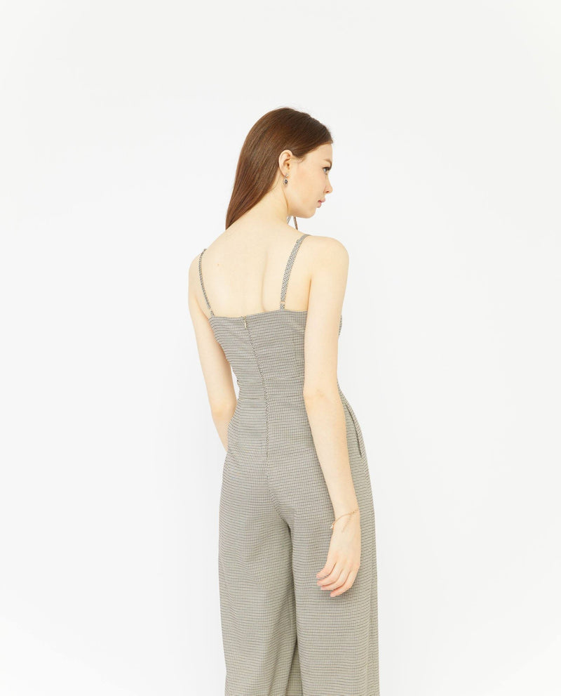 Rhiane Checkered Jumpsuit General OSMOSE-STORES