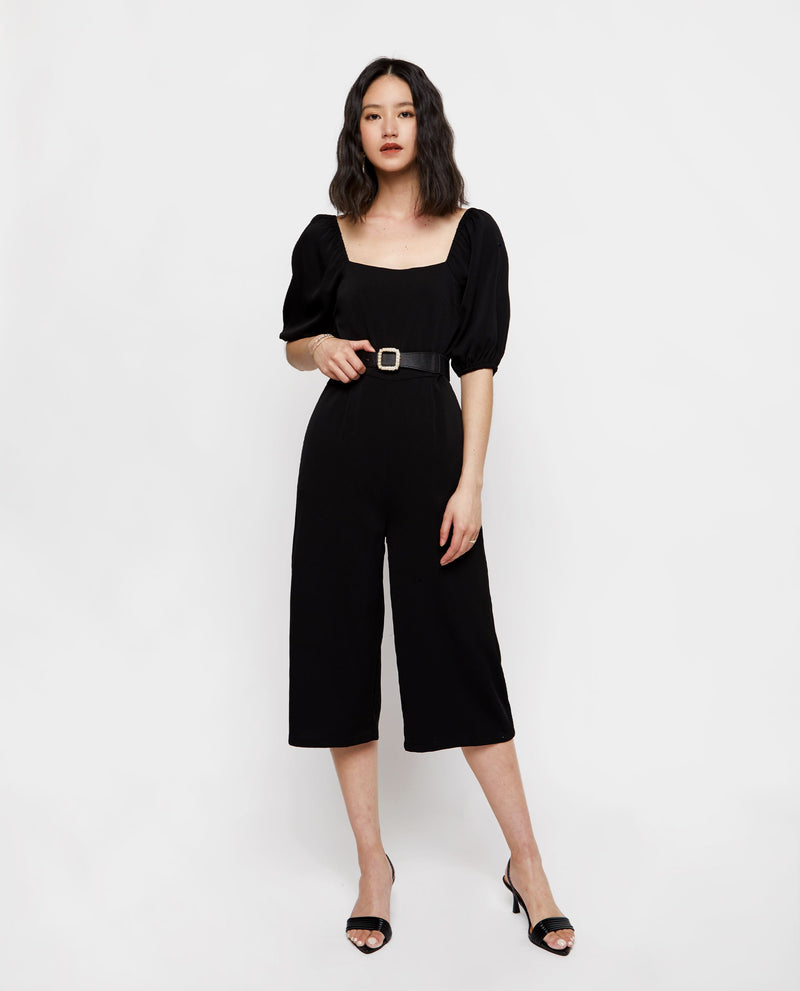 Romi Puff Sleeve Jumpsuit Jumpsuit OSMOSE-STORES