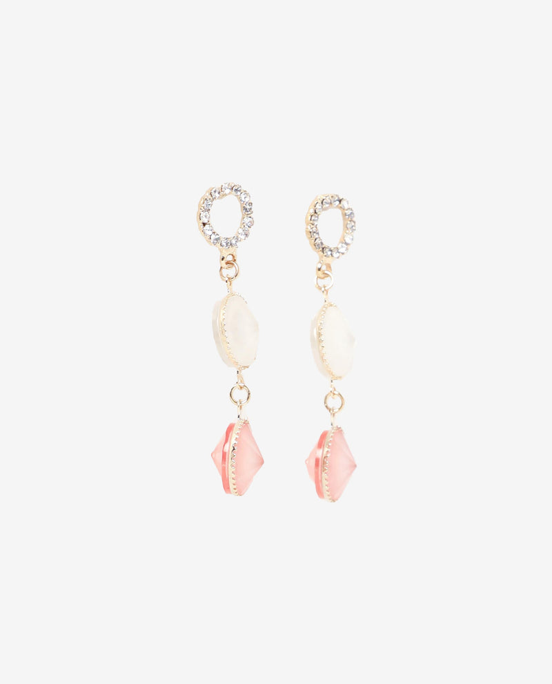 Zion Pendant Drop Earrings Earrings OSMOSE-STORES