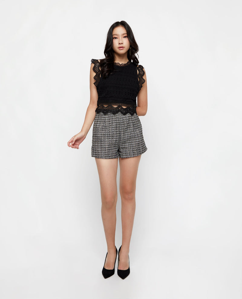 Sadria Lace Top Tops OSMOSE-STORES