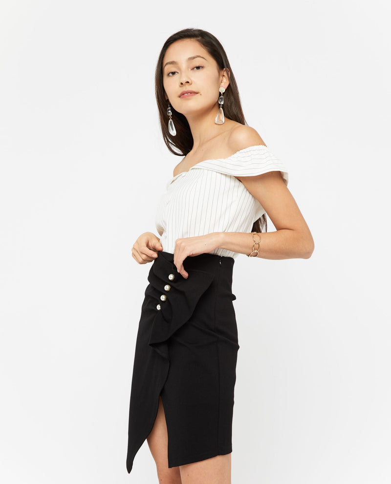 Saenez Mesh Top Tops OSMOSE-STORES