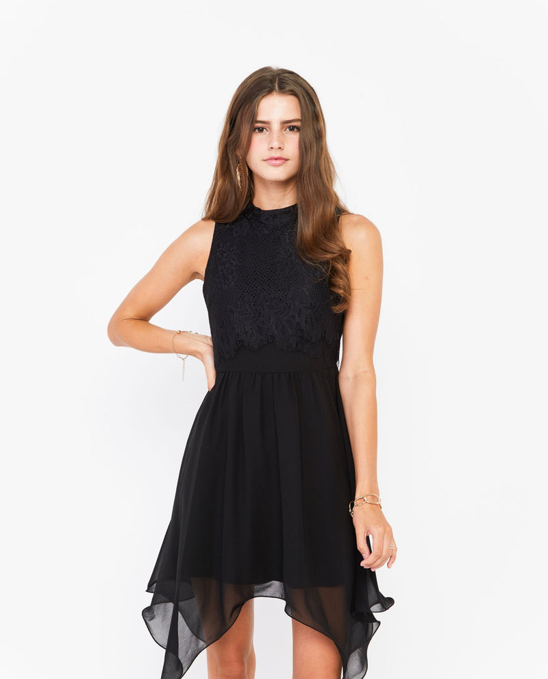 Severa Lace Dress General OSMOSE-STORES