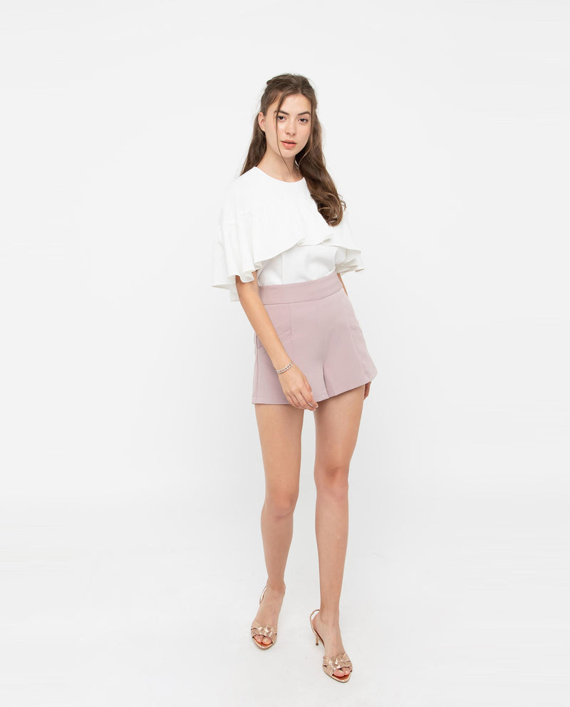 Sonnet Flutter Cape Top Tops OSMOSE-STORES