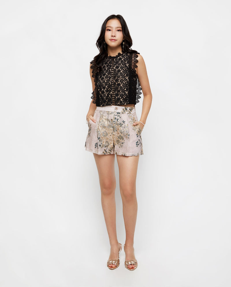 Suzie Lace Top Tops OSMOSE-STORES