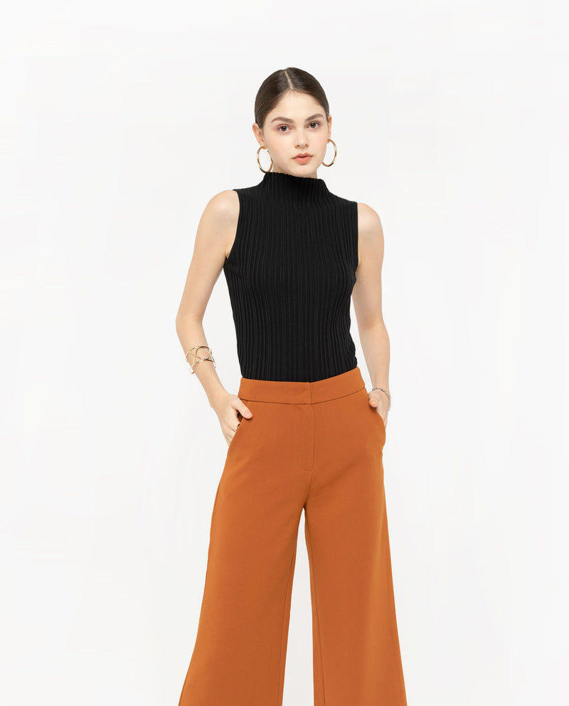 Teron Straight Leg Pants Bottoms OSMOSE-STORES XS Orange