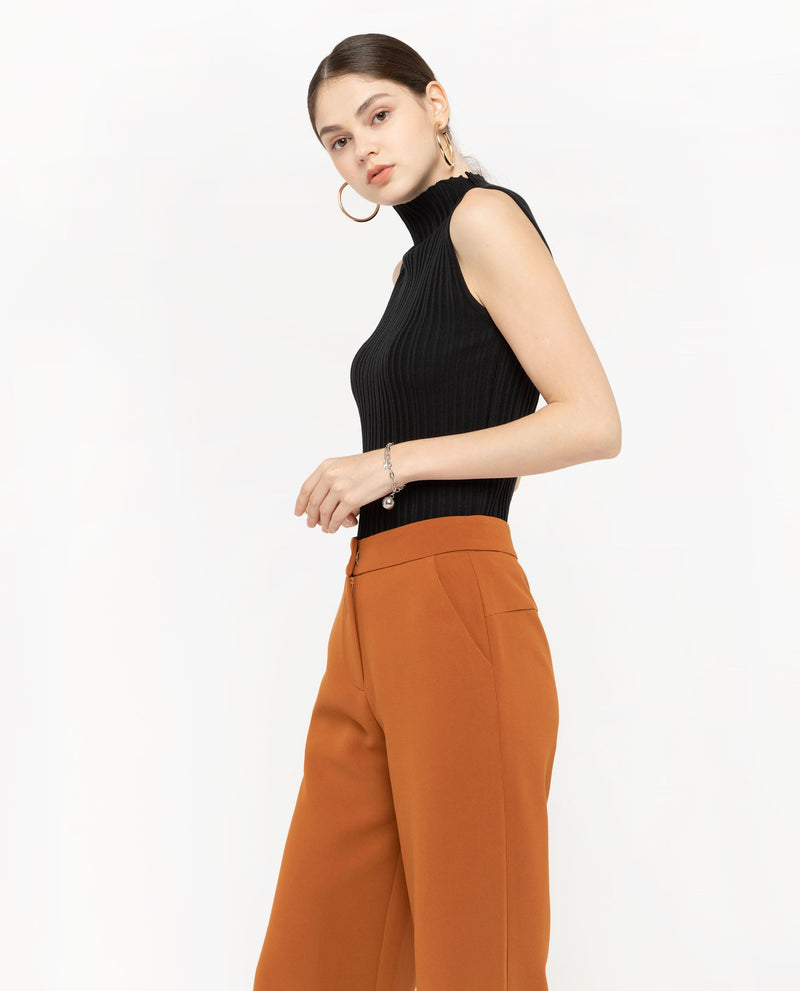 Teron Straight Leg Pants Bottoms OSMOSE-STORES