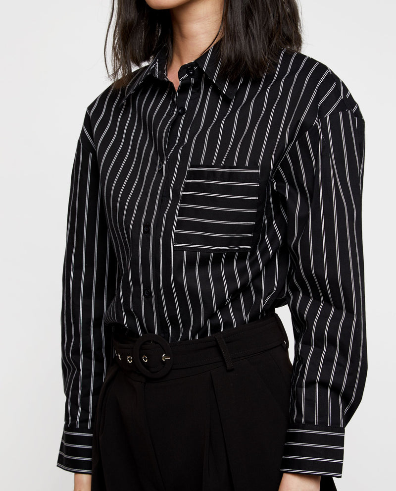 Theodore Striped Shirt Tops OSMOSE-STORES