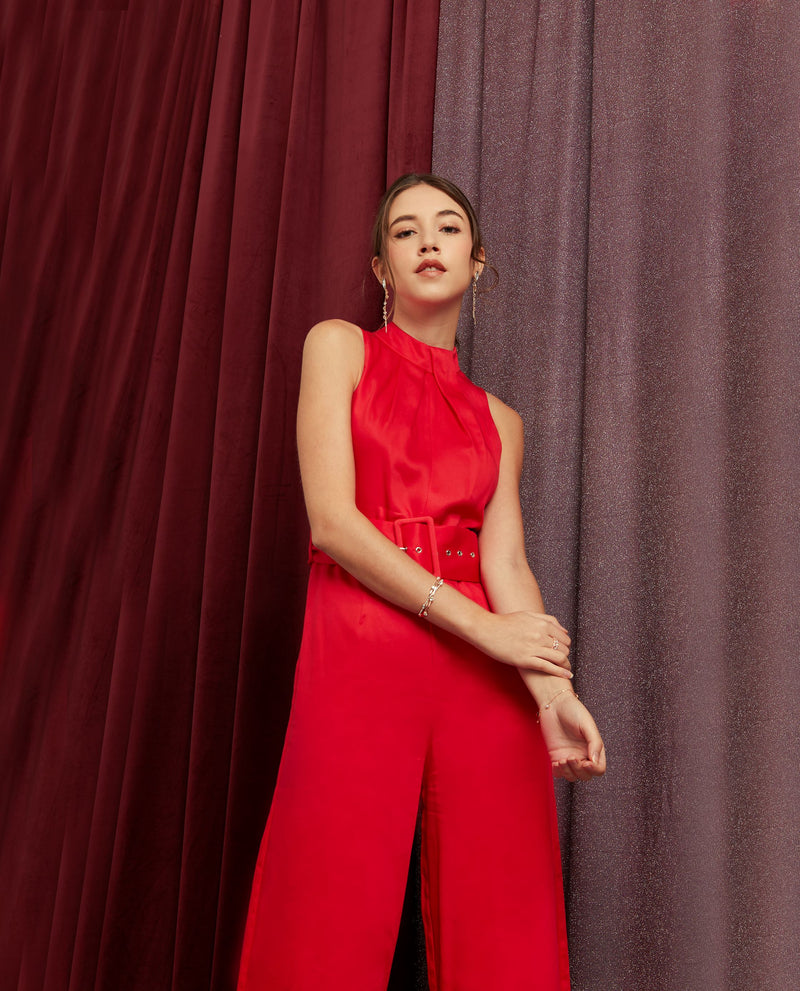 Thordis Belted Jumpsuit One-piece suits OSMOSE-STORES