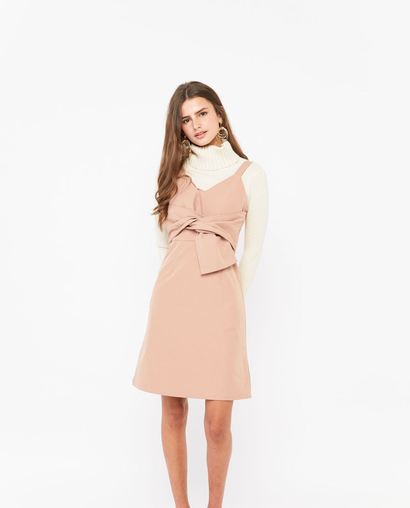 Tinuke Twist Tied Dress Dresses OSMOSE-STORES