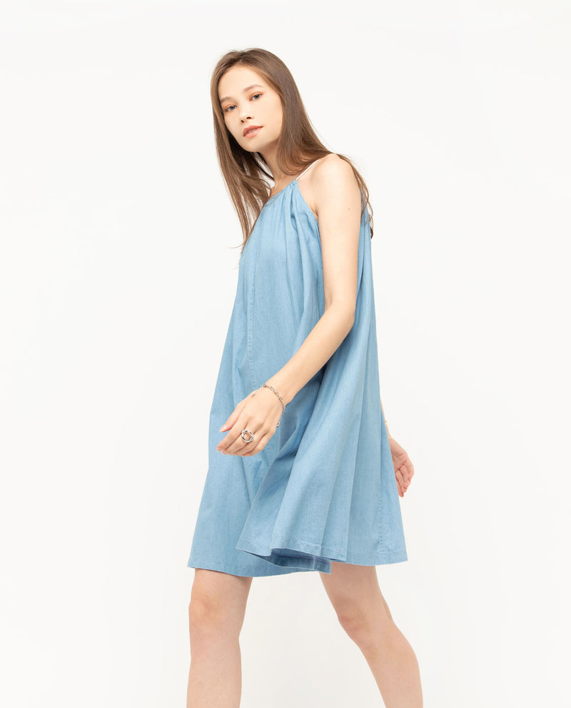 Uxun Halter Dress Short Dress OSMOSE-STORES