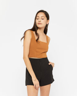 Vondes Top Tops OSMOSE-STORES XS Brown