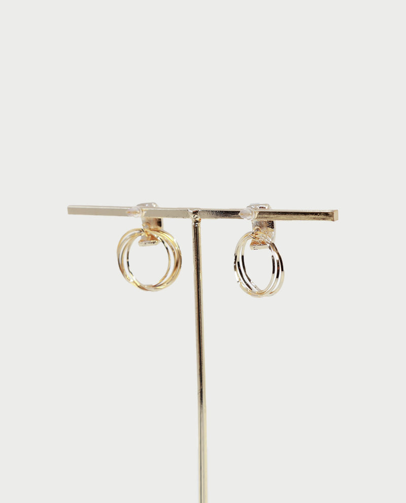 Willett Circle Loop Earrings Earrings OSMOSE-STORES